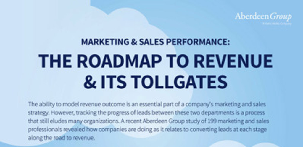 The Roadmap to Revenue & Its Tollgates